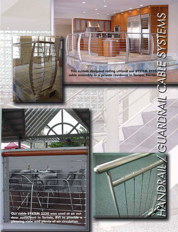 Cable Handrail Assemblies